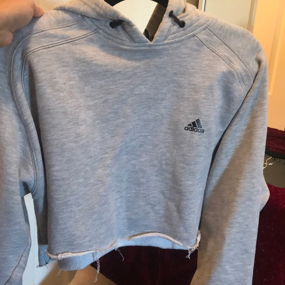 Adidas Sweaters Crop Top Sweater Poshmark